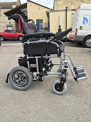 Pride Lx2 , 4Mph Electric Folding Mobility Wheelchair, Powerchair, Scooter, Aid