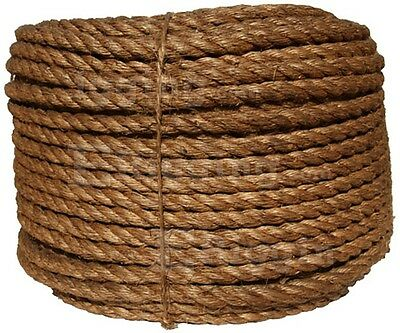"1.25"" Manila Rope Sold By The Foot $0.99/ft. Nautical Landscape Fitness Dock"