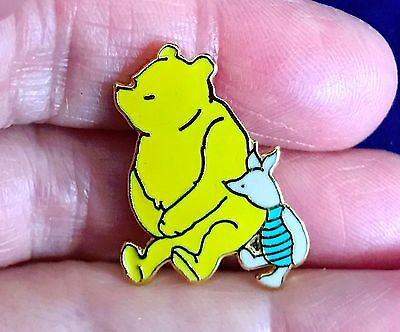 Winnie The Pooh Piglet Pin Classic Pooh Michel and Co 1990 Disney New