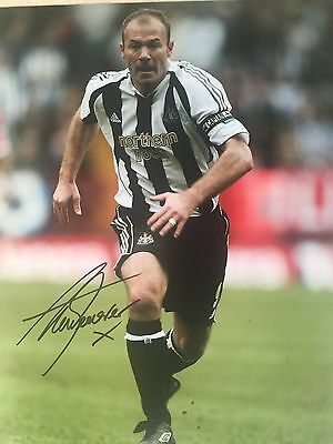 Alan Shearer Newcastle United Original Hand Signed Photo 12x8 With COA