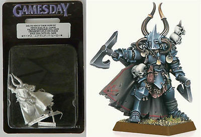 Limited Edition Games Day 2009 Exalted Hero of Chaos Rare OOP