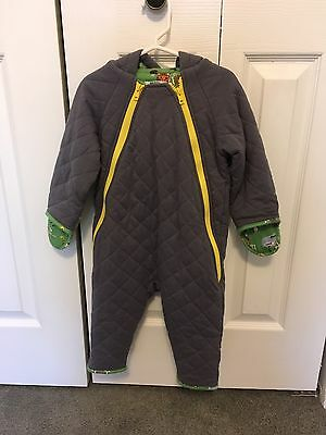 Baby Boden Hooded Romper 18-24 Months