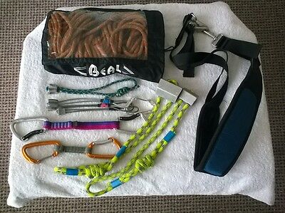 Climbing equipment, Rope, Gear Loop, Nuts, Quickdraws