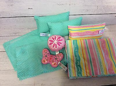 Authentic American Girl Doll Bedding Lot- For Dreamy Daybed or Other