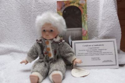 Knightsbridge Boxed Collectors Porcelain Doll - Lisa 9 Inches Tall