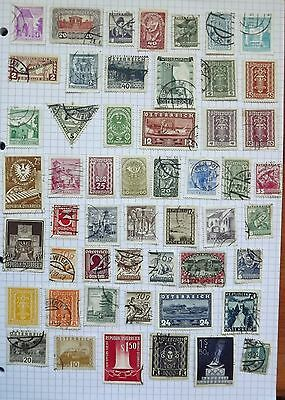 Austria. collection 52 stamps          C
