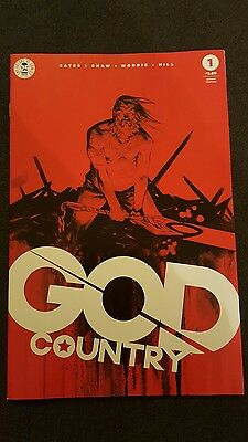 God Country # 1  - 2Nd Print Variant Cover  Image Comics - Sold Out