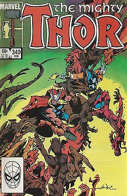 Thor #340 - Very Fine+ 8.5 - First Print