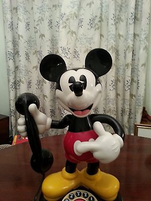 Mickey Mouse Telephone , Speaks And Moves