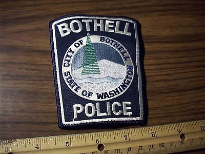 Washington State Police Patch's City of Bothell