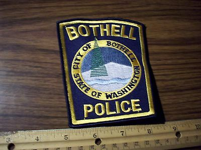 Washington State Police Patch's City of Bothell Older