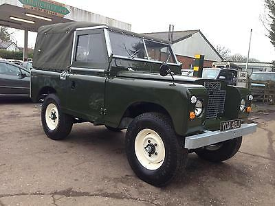 1971 Land Rover Series 2a SWB 2.25 petrol soft top RESTORED