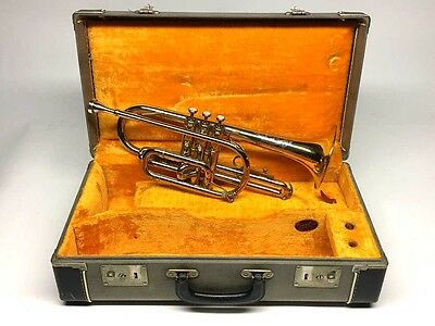 1962 Olds L-5 Special Cornet, Large Bore, GREAT PLAYER!