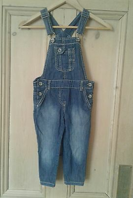 Girls NEXT jeans dungarees size age 5 years