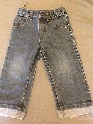 Boy's Blue Zoo Jeans  12-18 Months