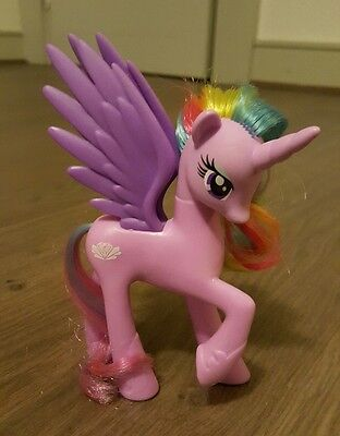 My Little Pony G4 FIM Princess Sterling Brushable Figure Toy