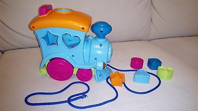 Train Learn Shape Sorter Toy age 18 months +