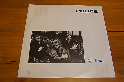 The Police King Of Pain 12'' Single Vinyl