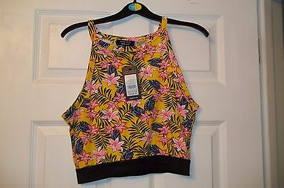 Girls New Cropped Top From New Look 9-15 Range Age 14-15