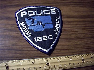 Washington State Police Patch's City of Mount Vernon