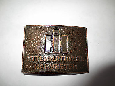 International Harvester Ih Belt Buckle Farm Tractor Made In Canada