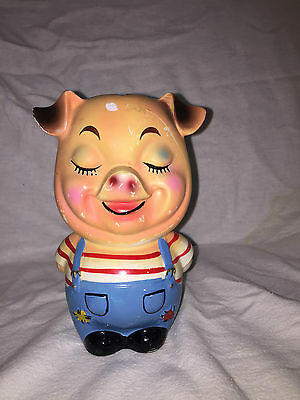 Vintage Piggy Bank, Distributed By Napco Giftcraft Japan