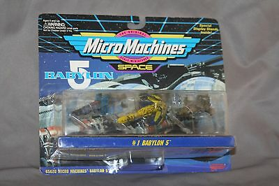 Micro Machines Space Babylon 5 set #1 Babylon 5 by Galoob #65620
