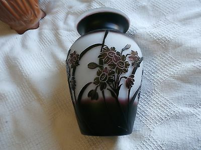 purple and white GALLE vase COPY
