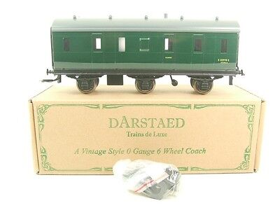 Darstaed O Gauge BR Green Six Wheel Stove Coach R/N S3779S Brand New Boxed