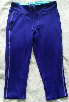 Ladies  cropped running trousers size 10/12
