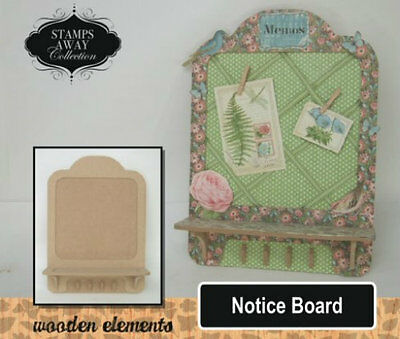 """Stamps Away MDF Wooden Elements Storage Kits """"Notice Board""""   LAST 2 REMAINING"""