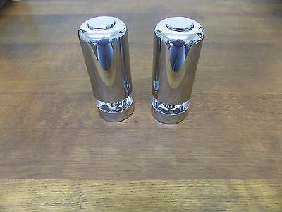 Stainless Steel Effect Salt and  Pepper Electric MILL's Dinner Breakfast