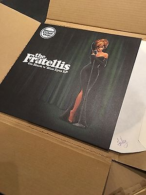 "NEW Fratellis vinyl EP ""Ole Black'n'Blue Eyes"""