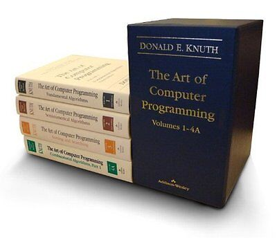 The Art of Computer Programming, Volumes 1-4a Boxed Set by Donald E Knuth
