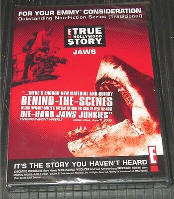 JAWS ~ Very Rare Documentary DVD - Steven Spielberg - The True Story!