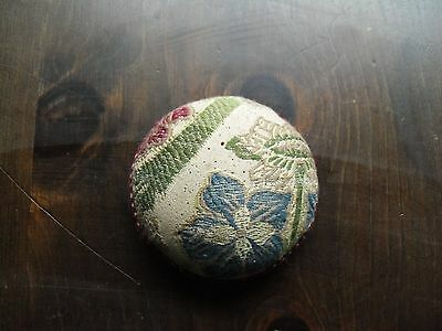 Vintage Material Sewing Pin Cushion