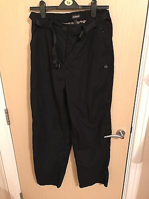Ladies Size 14 Craghoppers Walking Trousers