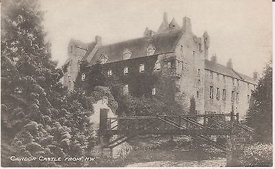 Cawdor Castle - From N.w. - Nairnshire  -Real Photo Early Postcard