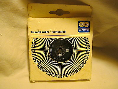 Vintage Triumph Adler Compatible Prestige Elite 12-DO2-020 Print Wheel-NIB