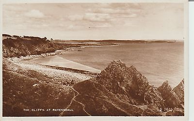 Ravenshall - The Cliffs - Yorkshire - Real Photo Early Postcard -