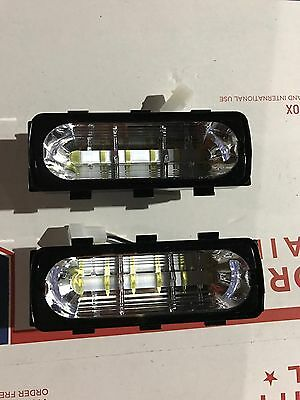 Whelen Liberty 500 Series LIN6 LED WHITE CLEAR Newest Style Pair Warranty ⬜️⬜️