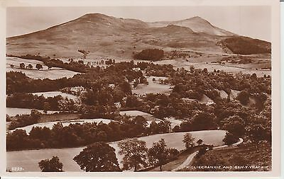 Killiecrankie And Ben Y Vrackie - Perthshire  -Real Photo Early Postcard -