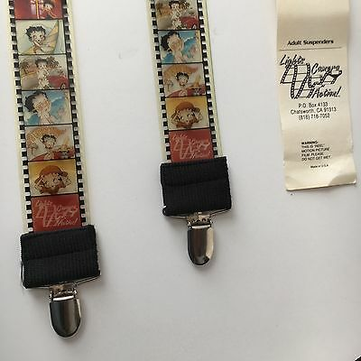 Betty Boop Reel Film Strip Suspenders Rare Find