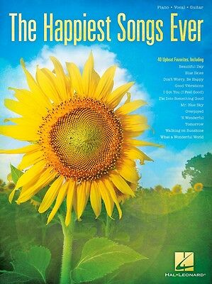 Hal Leonard The Happiest Songs Ever Piano/Vocal/Guitar