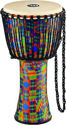 Meinl Rope Tuned Djembe Synth/Shell and Goat Skin Head 12 in. Kenyan Quilt
