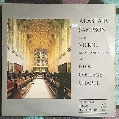 Alastair Sampson Plays Vierne at Eton College Chapel - UK LP Cathedral CRMS 864