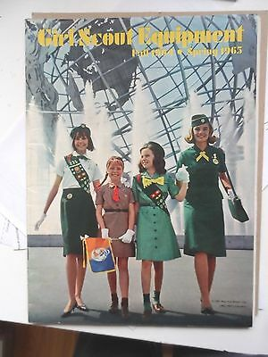 Lot 4 Vintage 1960's Girl And Brownie Scout Catalogs And Brochures