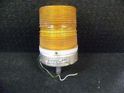 Vintage Federal Star Fire Amber Beacon Signal Light Emergency Lights Model 131ST