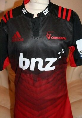 Canterbury Crusaders Super Rugby Shirt New Zealand Rugby Shirt (Small)
