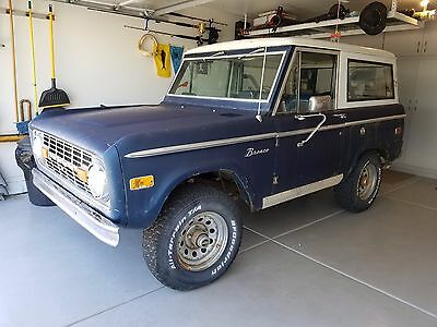 1975 Ford Bronco RANGER PACKAGE 1975 Ford Bronco